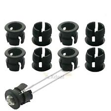 XD#3 Black 5mm Plastic LED Holders Clips Bezels Mounts Cases Cup Housings 50pcs