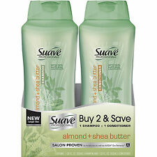 Suave Professionals Almond and Shea Butter Shampoo and Conditioner 28 oz