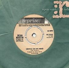 DEAN MARTIN gentle on my mind*that old time feelin' 1968 UK REPRISE 45