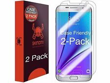 Skinomi Clear Screen Protector For Samsung Galaxy S7 Edge CASE FRIENDLY (2-PAK)