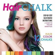 Hair Chalk : Step-by-Step Illustrated Instructions + 12 Easy to Follow...