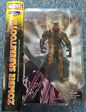 DIAMOND SELECT ZOMBIE SABERTOOTH MARVEL ACTION FIGURE