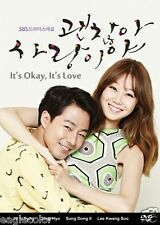 It's Okay, That's Love Korean Drama (4DVDs) Excellent English & Quality - Box Se