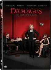 Damages: The Complete Fifth Season (DVD, 2013, 3-Disc Set) BRAND NEW!!!