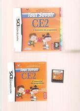 Rare !!! TOUT SAVOIR CE2  : Indispensable sur  DS/DSi/3DS