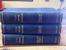 THE NEW CENTURY DICTIONARY of The English Language - COMPLETE 3 Volumes - 1931
