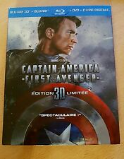 Captain America : The First Avenger Combo Blu-ray 3D + Blu-ray 2D