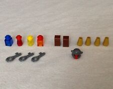 Replacement Lego Heroica: Fortaan ITEMS Potions Treasure Chest Gold Keys Helmet