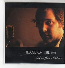 (DQ689) House On Fire, Andrew James O'Brien - 2012 DJ CD