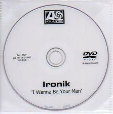 (N251) Ironik, I Wanna Be Your Man - DJ DVD