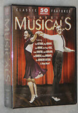 Clásica Musicals 50 Peliculas Fred Astaire,Bing Crosby,and more DVD Box Set
