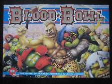 Blood Bowl Second Edition 2nd Games Workshop Citadel Warhammer 1987 Box EN VO