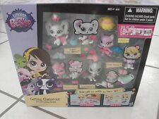lps Littlest Pet Shop Getting Glamorous Pet Styling Pack pets bodies wigs swap