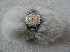 Vintage Caravelle Wind Up Ladies Watch - Water Resistant - Runs Fast