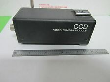 MICROSCOPE INSPECTION VIDEO CAMERA CCD SONY XC-57 OPTICS AS IS BIN#N5-02