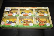 Jurassic Hunters Geoworld 6 Individual packages - 1 Big Gift Dr.Steve 6 models