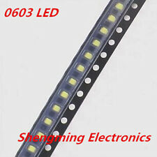 1000pcs 0603 White LED lamp beads super bright SMD LED