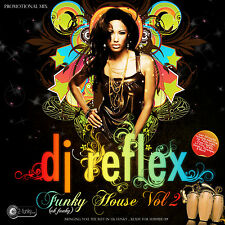 DJ REFLEX FUNKY HOUSE MIX CD VOL 2