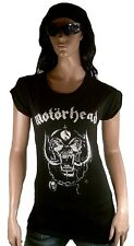 ASOS Official MOTÖRHEAD ENGLAND Strass Diamante Rock Star ViP Tunika T-Shirt g.L
