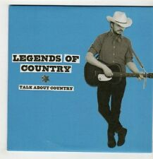 (GS924) Legends of Country, Talk About Country - 2015 DJ CD