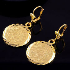 Earrings 9ct Gold Filled Dangle Coins by Hearts & Diamonds Great Gift Idea