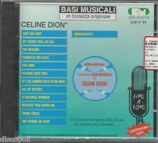 BASI MUSICALI - Celine Dion - CD SEALED