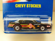 1990 HOT WHEELS #70 BLUE CARD / SPEED POINTS - CHEVY STOCKER DIECAST