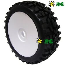 2pcs 1:8 RC All Terrain Buggy Tires Wheels for HPI XTR Badlands Car Upgrade