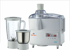 Bajaj JX4 Juicer Mixer Grinder Stainless Steel Jars with 2 Year Warranty