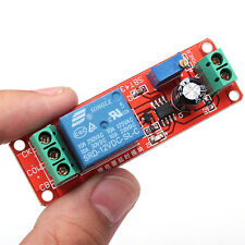 DC 12V/10A Delay Timer NE555 Chip Adjustable Relay Switch Module 0-10 Second US