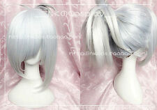 The Exile Riven Short Silver White LOL League of Legends Cosplay Party Wig Hair