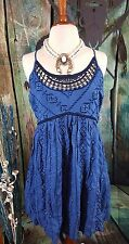 COWGIRL gYPSY TanK Sleeveless DRESS AZTEC Southwest Tribal BOHO Western XL