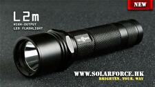 Solarforce L2m 18650/CR123A Forward Clicky Flashlight Host - Black