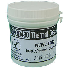 GD460 Thermal Paste Grease Silicone Heatsink Compound Silver New 100 Grams CN100