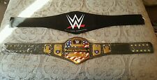 WWE  UNITED STATES CHAMPIONSHIP COMMEMORATIVE TITLE BELT. CARRYING BAG INCLUDED.