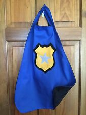 Policeman Kids Superhero Cape/Costume