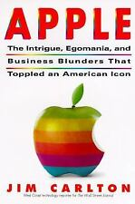 Apple:: The Inside Story of Intrigue, Egomania, and Business Blunders-ExLibrary
