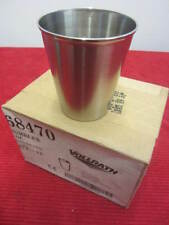 Box of 12      Vollrath 68470 Stainless Steel Cup 7oz Party Shot Drink Tumbler