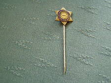 OLD CHRISTIAN HERALD GOLDEN STAR BRIGADE ENAMEL STICK PIN BADGE
