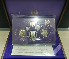 1978 SINGAPORE PROOF SET WITH BOX & COA