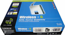 Cisco Linksys Wireless-G ADSL2+ Home Gateway ISDN ANNEXB modem router WAG200G