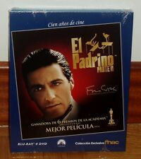 THE GODFATHER-EL PADRINO II 2-COMBO BLU-RAY+DVD-NUEVO-PRECINTADO-THRILLER-ACCION