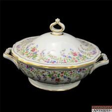 Rosenthal Chippendale Covered Vegetable Dish w/Lid Bahnhof Selb Germany Gilded