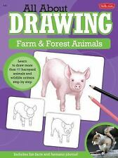 All About Drawing Farm & Forest Animals: Learn to draw more than 40 barnyard ani
