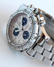 BREITLING Men's Watch, COLT CHRONO Model, A73380, Box & Papers, 41.1 mm
