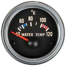 100% Made in Taiwan 52mm Electrical Chrome Rim Water Temp Gauge