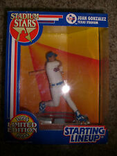 Juan Gonzalez 1994 Limited Edition Starting Lineup Stadium Stars Texas Stadium