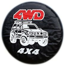 4X4 TYRE COVER 4WD SPARE WHEEL TIRE COVER CAR HONDA SUZUKI LAND ROVER NEW