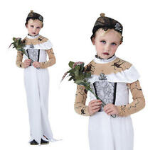Childrens Zombie Bride Fancy Dress Costume Halloween Corpse Outfit Childs L