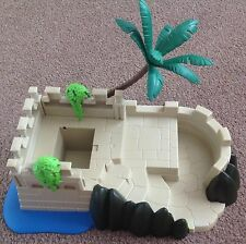 Playmobil Base plus Scenery. Come With Box. From Set 4007